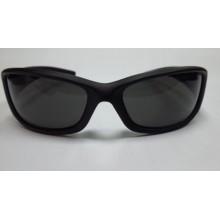 Очки солнцезащитные BRENDA полароид черные фирменные спортивные (оригинал) G2919-05